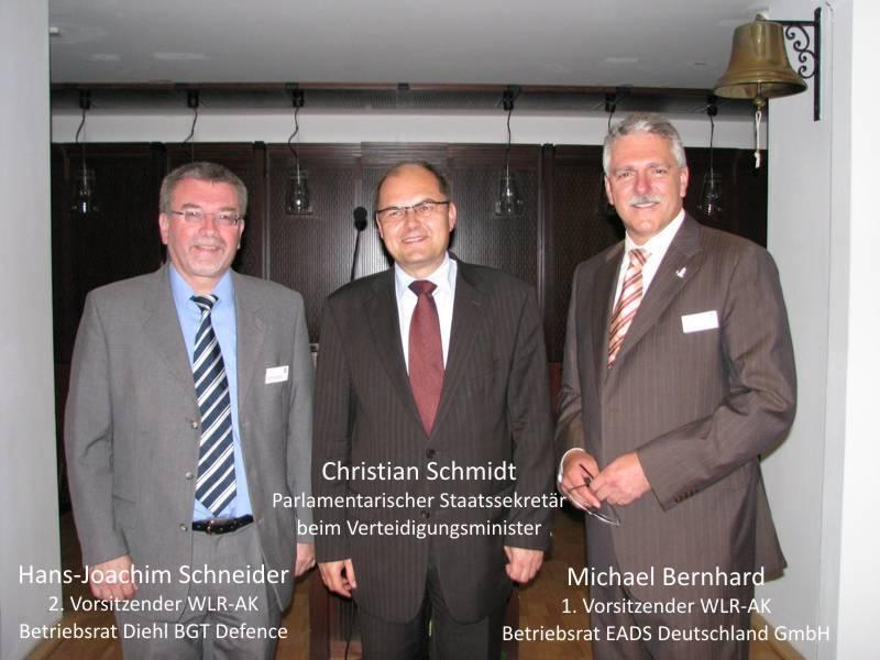 Parlamentarischer Abend mit StS Christian Schmidt