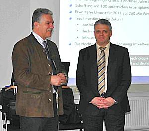 Michael Bernhard und Peter Schlote