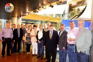 WLR-AK mit Bernd Posselt im Europäischen Parlament