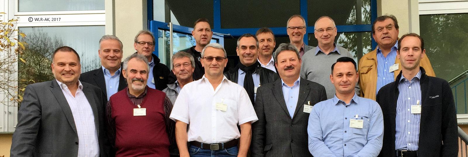 WLR-AK Mitgliederversammlung Überlingen 12.10.2017