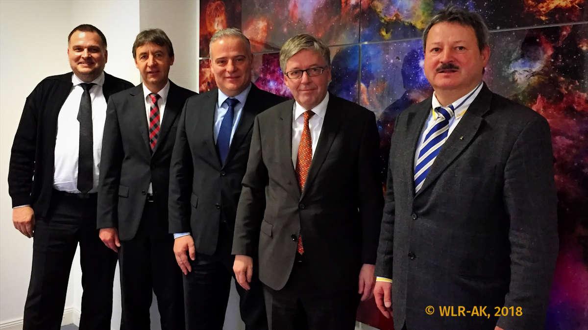 WLR-Leitung mit Dr. Hans-Peter Bartels (SPD)