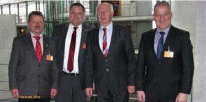 WLR-Leitung mit Eckhardt Rehberg (CDU)