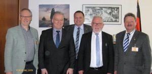 WLR-Leitung mit Wolfgang Hellmich (SPD)