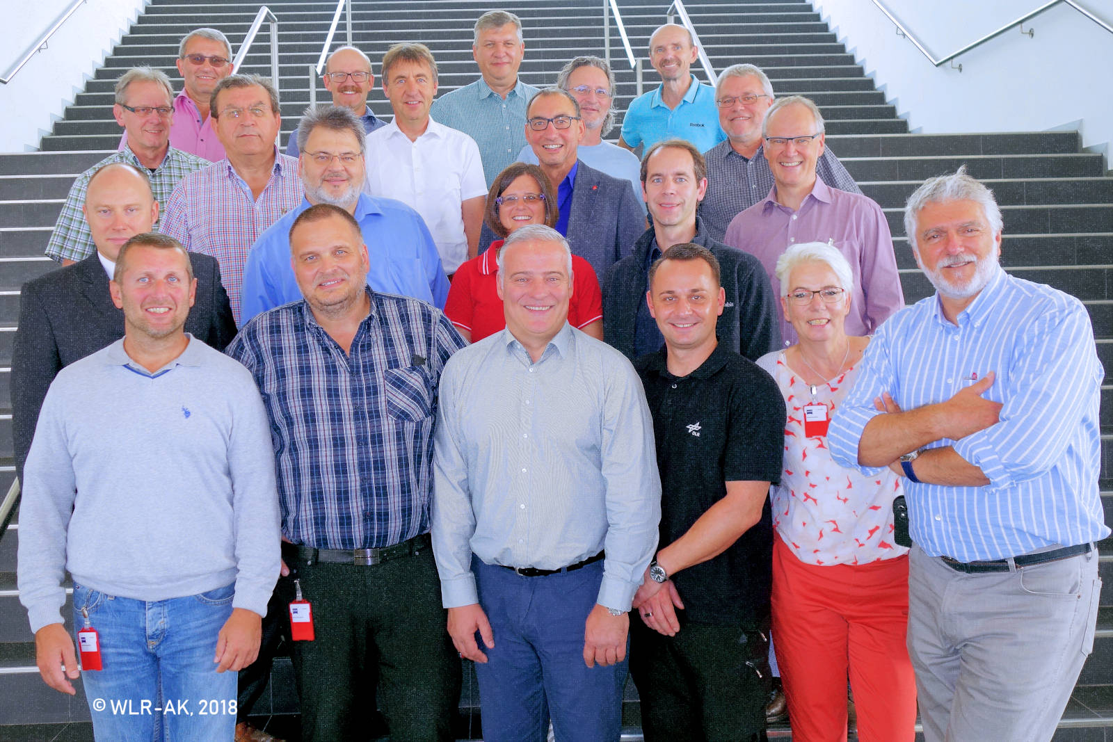 Ein Teil der Betriebsrätinnen und Betriebsräte, die an der Mitgliederversammlung teilgenommen haben