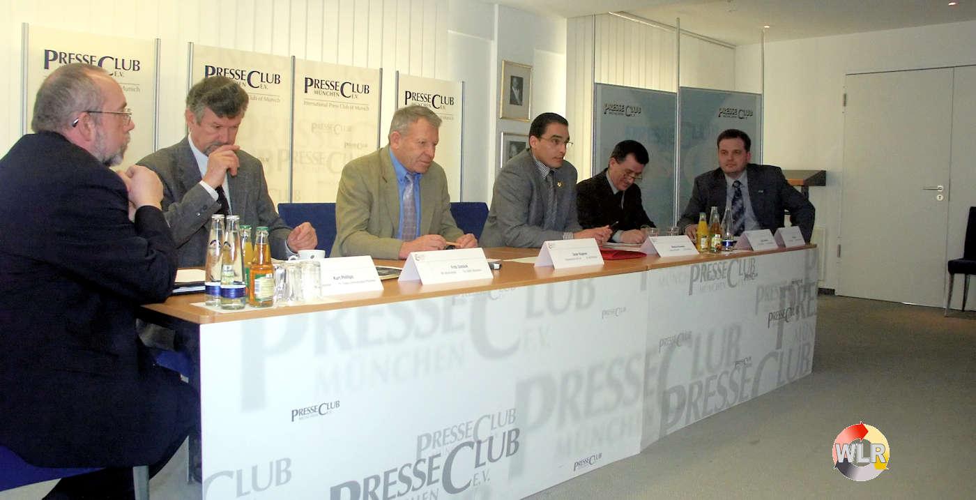 WLR-AK im Presseclub München