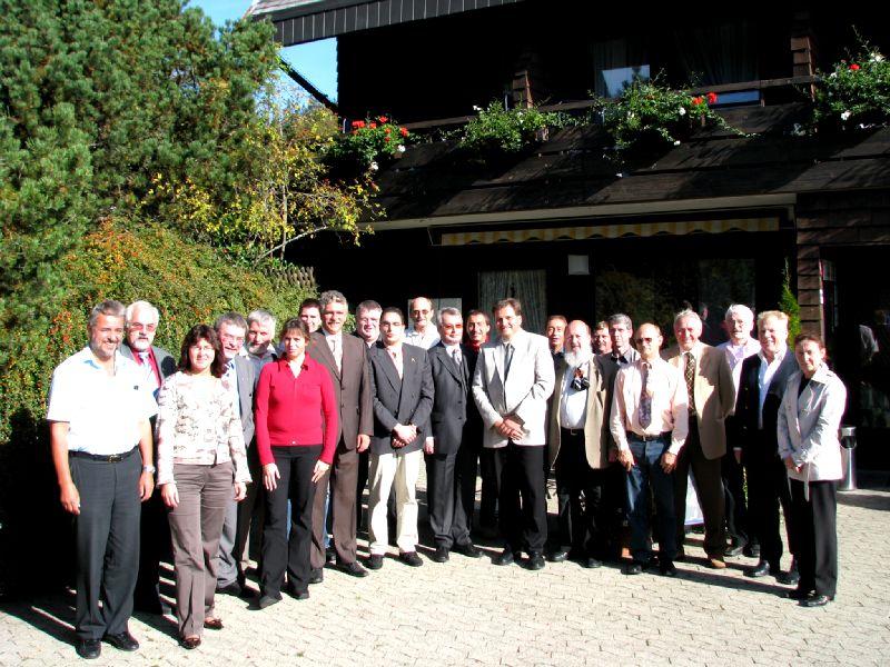 20.09.2007 Mitgliederversammlung am Hornberg