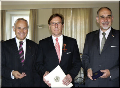 Helmut Hohenstatter erhält Bundesverdienstkreuz