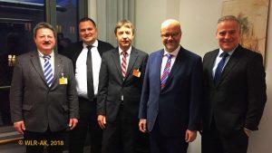 WLR-Leitung mit Dr. Fritz Felgentreu (SPD)