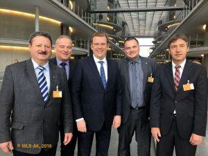 WLR-Leitung mit Dr. Reinhard Brandl (CSU)