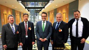 WLR-Leitung mit Dr. Tobias Lindner (Grüne)